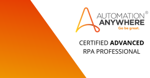 CERTIFIED ADVANCED RPA PROFESSIONAL